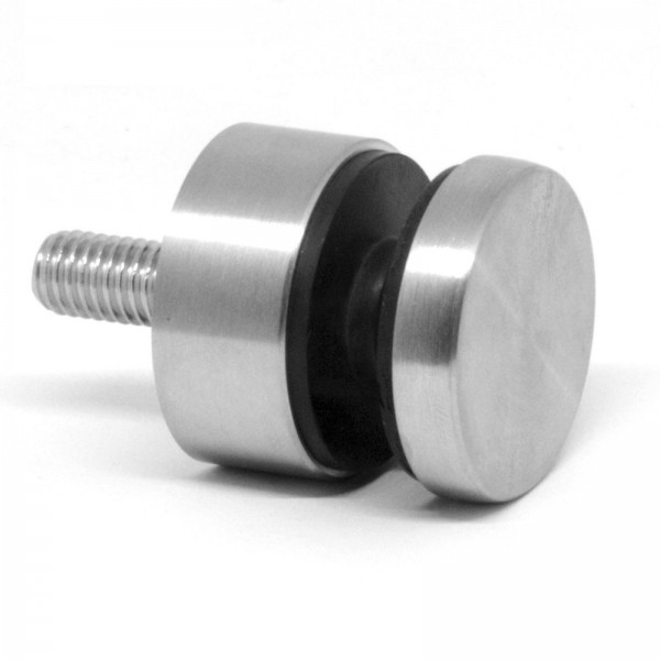 Glaspunkthalter U64 / U65 ( Edelstahl V2A, Anschluss: Flach & Ø42,4mm )