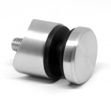 Glaspunkthalter Edelstahl V2A Ø42,4mm U65