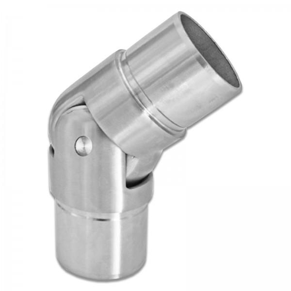 Gelenk 0-70° U60 (Edelstahl V2A, Ø42,4mm)