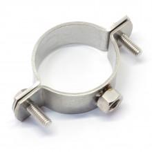 Rohrschelle / Rohrhalter für Stockschraube (Edelstahl V2A)