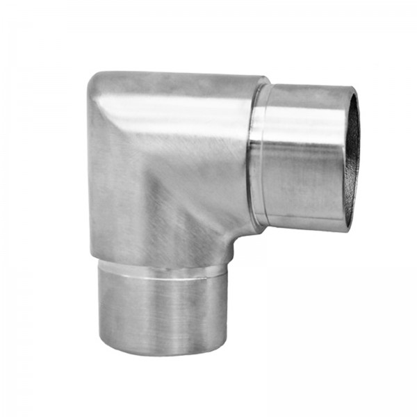 Eckbogen 90° scharf U55 (Edelstahl V2A, Ø33,7mm)